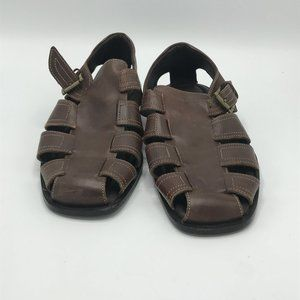 Johnston & Murphy Brown Leather Sandals